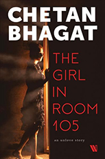 The Girl in Room 105 jacket art