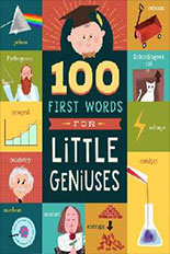 100 First Words for Little Geniuses jacket art