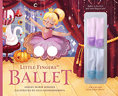 Little Fingers Ballet jacket art